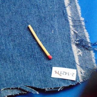 Coupon jean coton 20x70cm