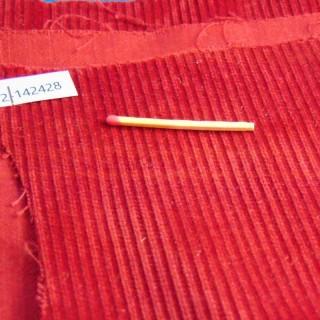Thick velvet cotton coupon 30x20cm
