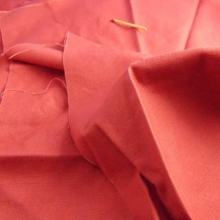 Coupon Ane de Solène tissu uni toile coton 35x20cm