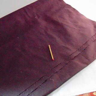 Coupon de coton fin 35x160cm