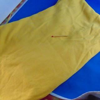 Coupon jean coton à rayures 40x60cm
