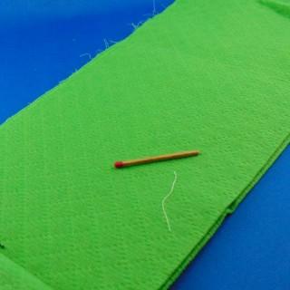 Bande coton piqué grande largeur 30 cm