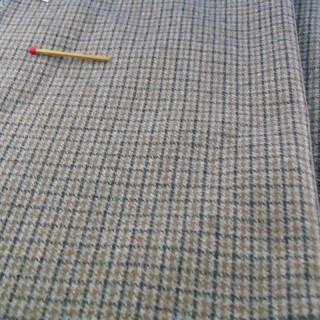 Cupón de tela de lana de 75 x 150 cm