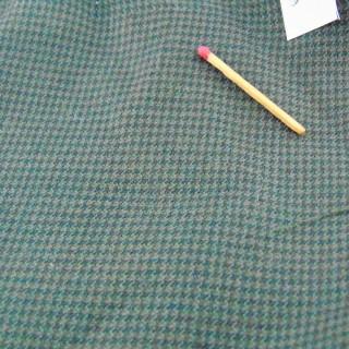 Cupón de tela de lana de 110 x 150 cm