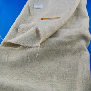 Cupón de tela de lana de 50 x 75 cm