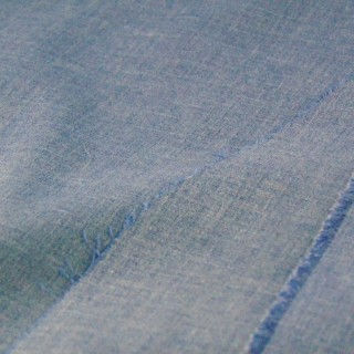 Coupon tissu léger style jean 80x40cm