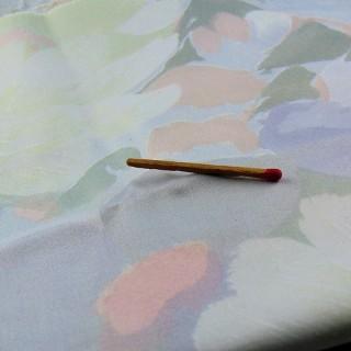 Coupon satin coton épais ameublement 140x70 cm
