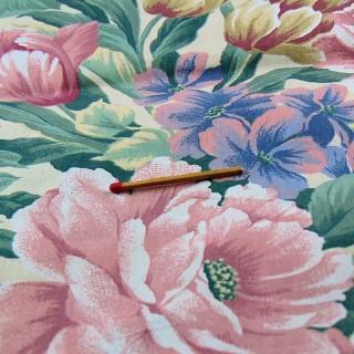 Coupon coton léger ameublement 60cmx195 cm