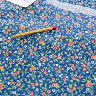 Cupón algodón mini flores 50x40cm