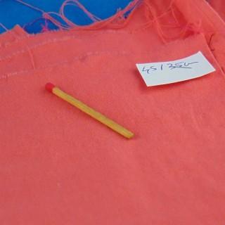 Bande de coton ancien 25 cm