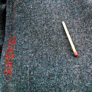 Cupón de tela de doble lana muy buena calidad vintage