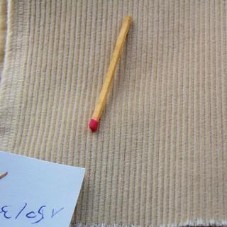 Cotton velvet coupon thousand rays per metre