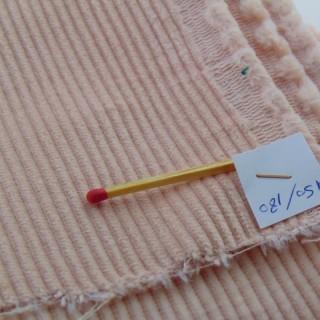Coupon en velours côtelé en coton 150x180 cm