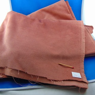 Cupón de pana de algodón de 150x130 cm