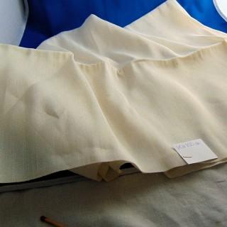 Light fabric curtain coupon 110cmx100 cm