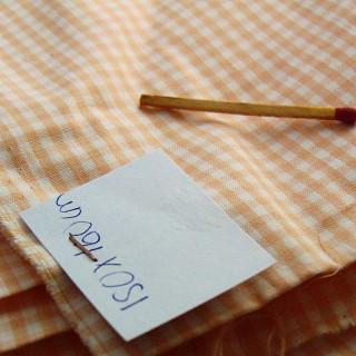Coupon vichy coton 150 x 160 cm