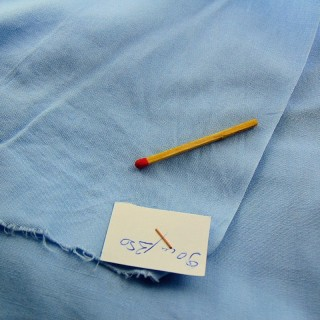 Cotton poplin coupon 90 cm wide per metre