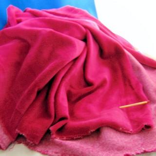 Cupón de vellón de algodón de lujo 160x50 cm