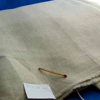 Tissu en mélange lin au mètre 150 cm de large