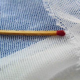 Coupon de tulle de coton 140cm de large