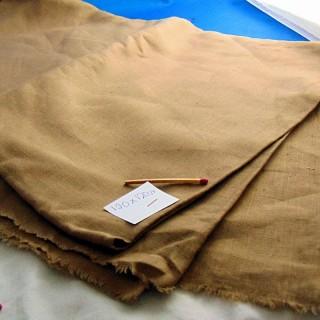 Fine linen coupon 120 cm x 120 cm