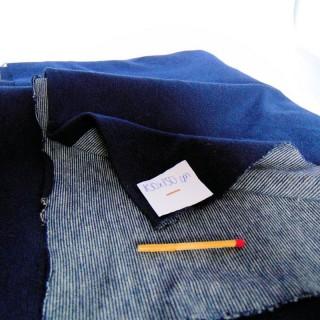 Plain jersey syle denim coupon 100x150 cm