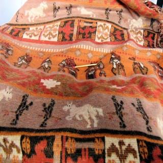 Tejido de lana elástica suave de 170 cm de ancho