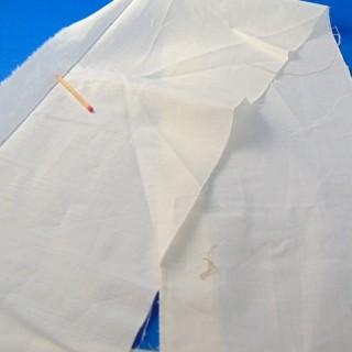 Bande de coton enduit grande largeur 20 cm