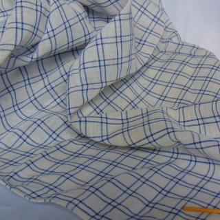 Coupon coton à carreaux 25 x 45cm