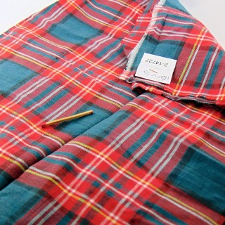 100x50cm plaid cotton coupon