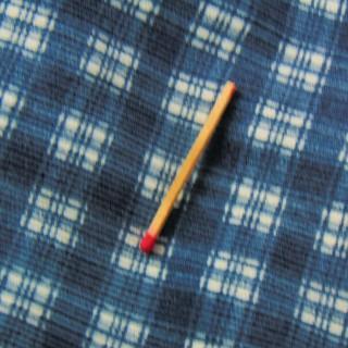 Tejido a cuadros de algodón terciopelo a 150 x65 cm metro