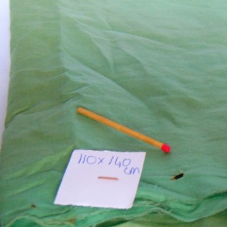 Ancho del cupón de algodón fino viejo 110 cm x 140 cm