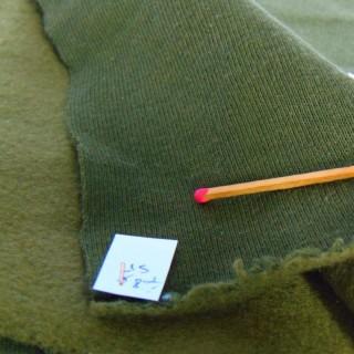 Coupon molletonné coton 95x120 cm