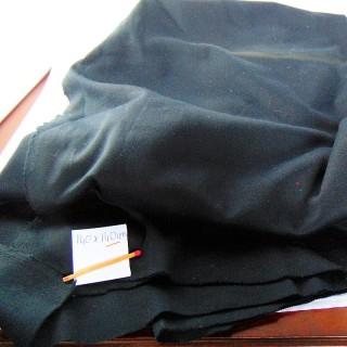 Coupon de coton piqué molletonné 30x60cm