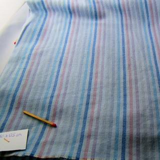 Coupon de coton rayé largeur 165 x 35cm