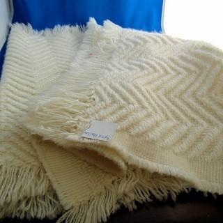 Tejido de lana grueso y suave 35x140cm