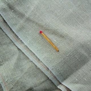 Cupón de lino impreso ancho 95 cm