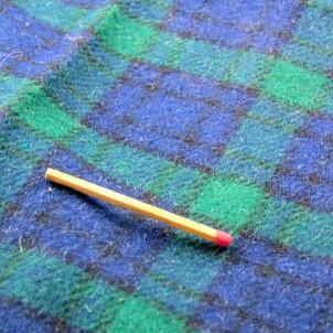 70x65cm Scottish wool fabric coupon