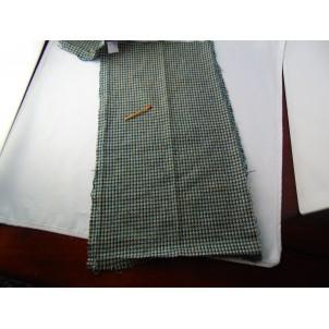 Plaid cotton coupon