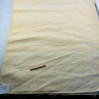 Linen-mixed fabric 66 cm wide