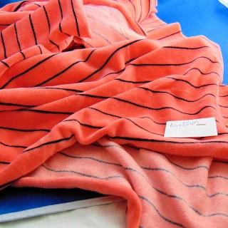 Coupon en jersey velours 40 cm x 90 cm