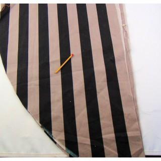 Cupón a rayas de algodón Anne de Soléne