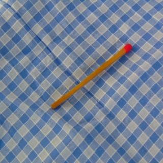 Crumpled synthetic fabric strip 14 cm x 150 cm