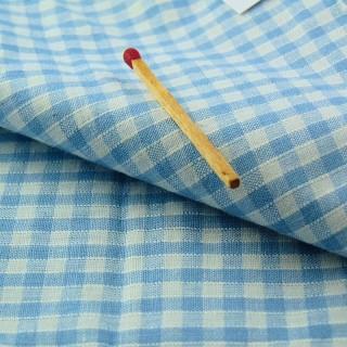 Coupon vichy coton 55 x 55 cm