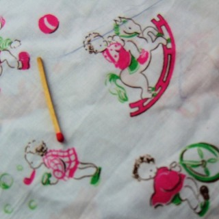 Baby child printed cotton coupon