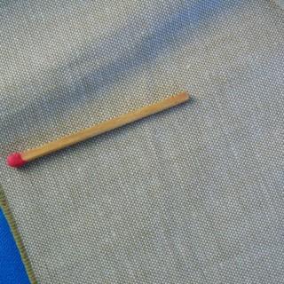 Coupon de coton Chambray fin 150 cm x 100 cm