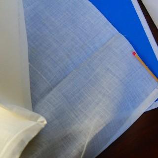 Tejido batista de algodón de 125 cm