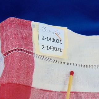 Mantel de algodón viejo 160 x 150 cm