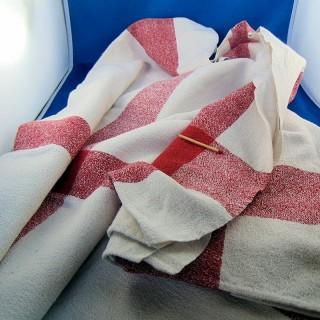 Old table towel in granulated métis 54 x 56 cm