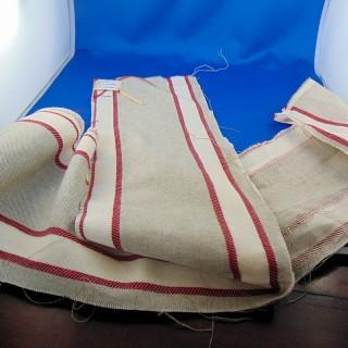 Banda de lino bordado de gran ancho 15cm